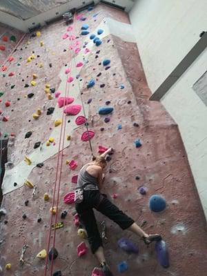 culture - Misha_climbing